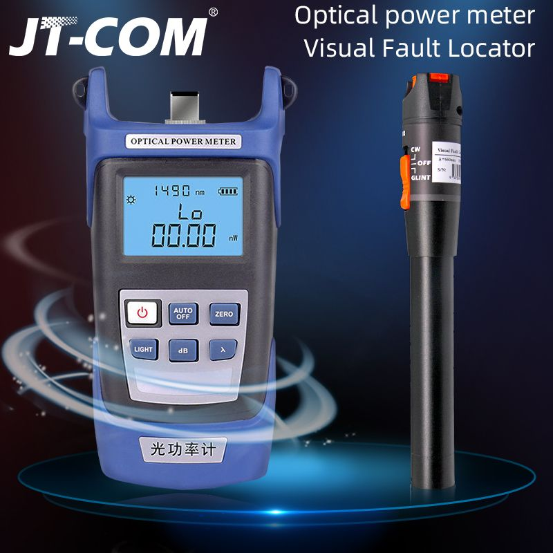2 In1 FTTH Fiber Optic Tool Kit Fiber Optical Power Meter-70 + 3dBm und 5km 1mW visual Fault Locator Fiber optic test stift