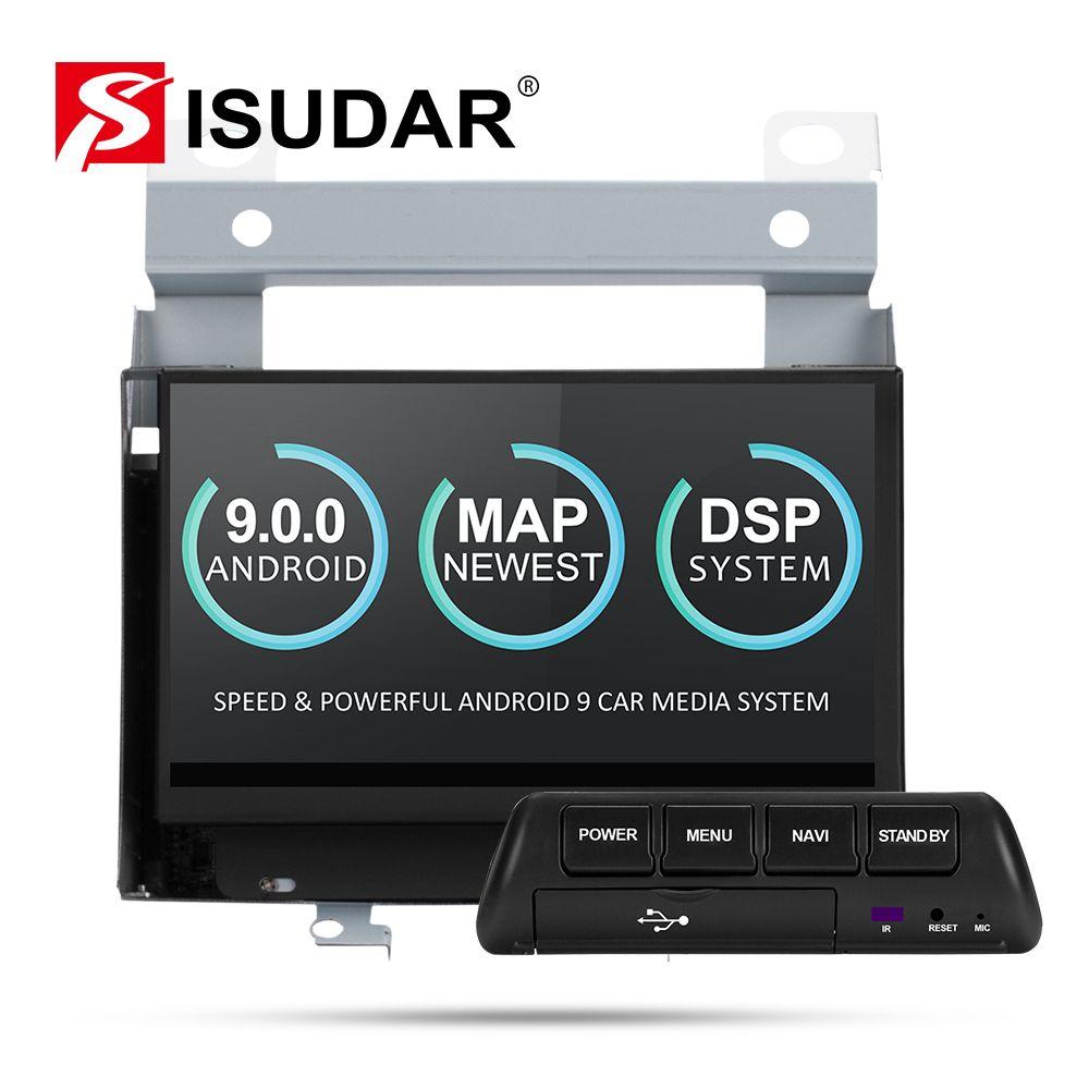 Isudar Auto Multimedia-Player 2 Din Android 9 Für Land Rover/Freelander 2 2007-2012 GPS Automotivo Radio Wifi quad Core DVR DSP