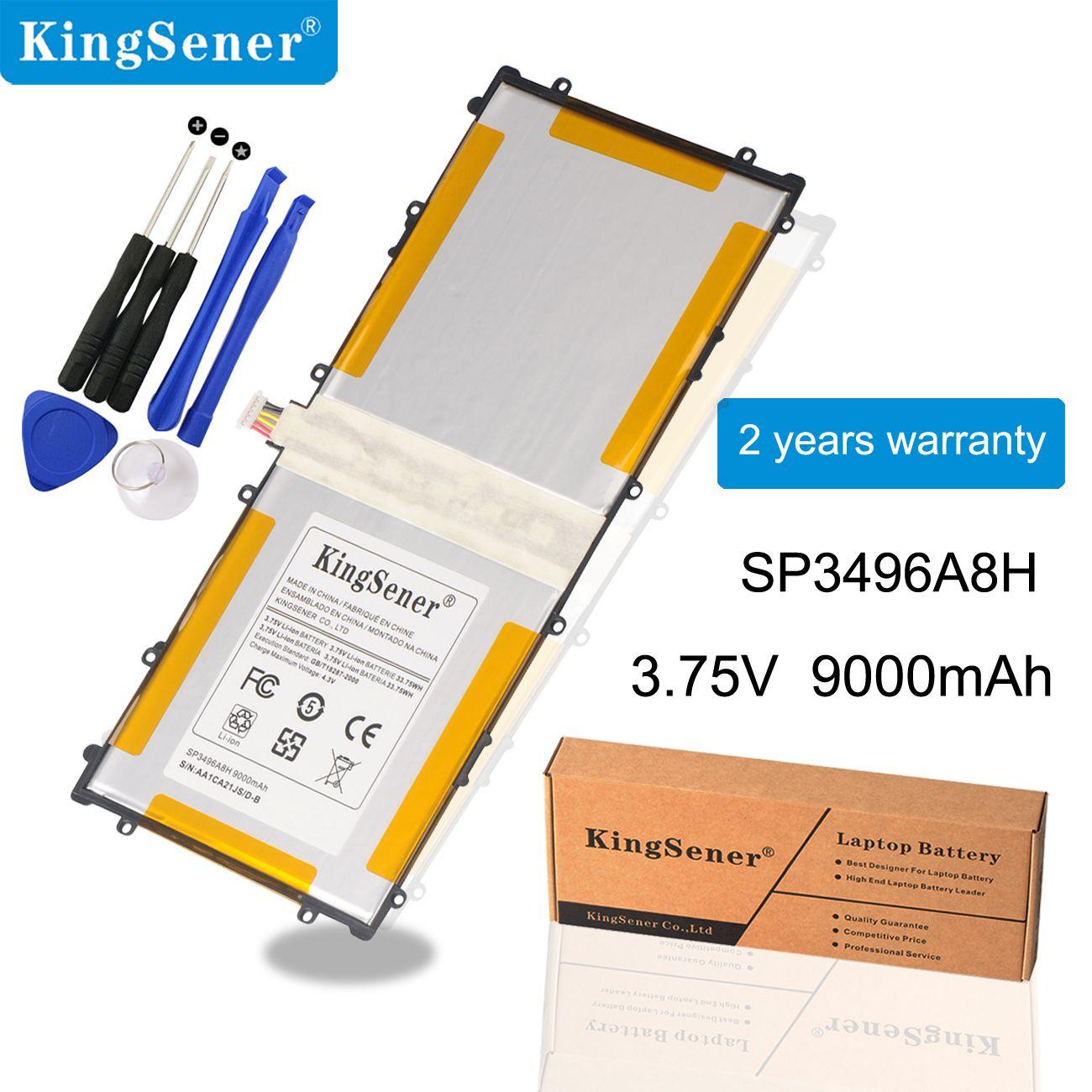 KingSener 3.75V 9000mAh SP3496A8H batterie pour Samsung Google Nexus 10 GT-P8110 HA32ARB P8110 piles pour tablettes + outil gratuit