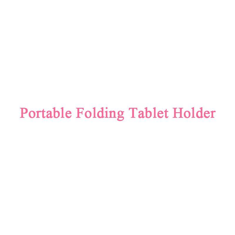 Portable Pliant support de tablette
