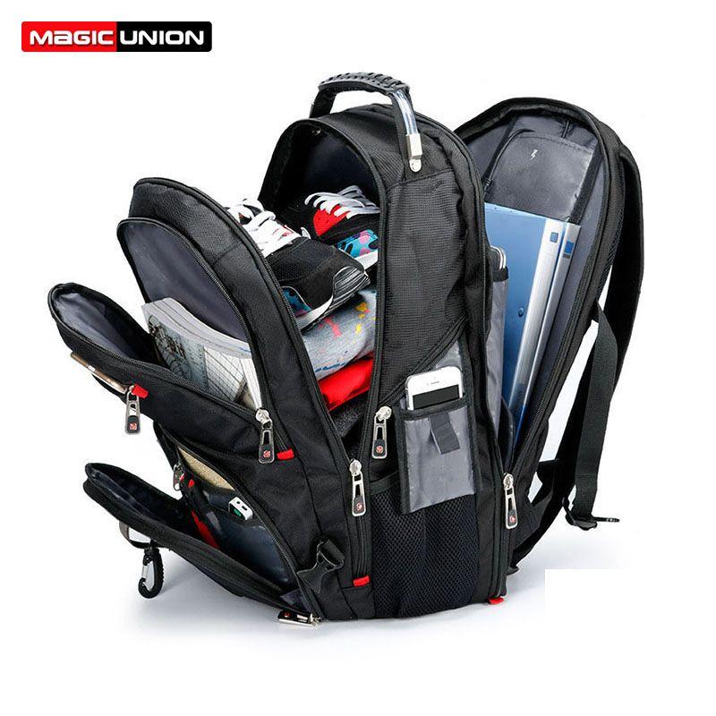 MAGIC UNION Oxford sac à dos pour ordinateur portable pour homme Mochila Masculina homme grand résistant à l'eau randonnée sac à dos bagages et sacs de voyage