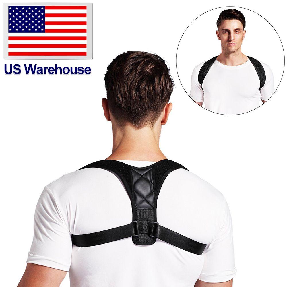 Adjustable Brace Support Belt Back Posture Corrector Clavicle Spine Back Shoulder Lumbar Posture Correction