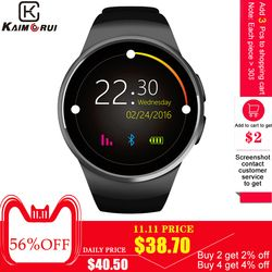 Kaimorui Smart Watch Men Passometer Monitor Heart Rate Phone watch SIM Card for IOS Android Bluetooth Watch Smart