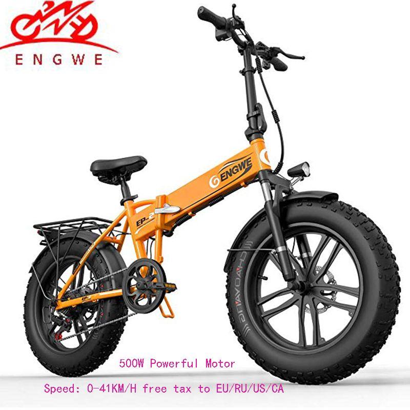 Elektrische fahrrad 20*4,0 inch Aluminium Faltbare elektrische Fahrrad 48V10A 500W 40 KM/H 6 Geschwindigkeit Leistungsstarke Fett Reifen bike Berg schnee ebike