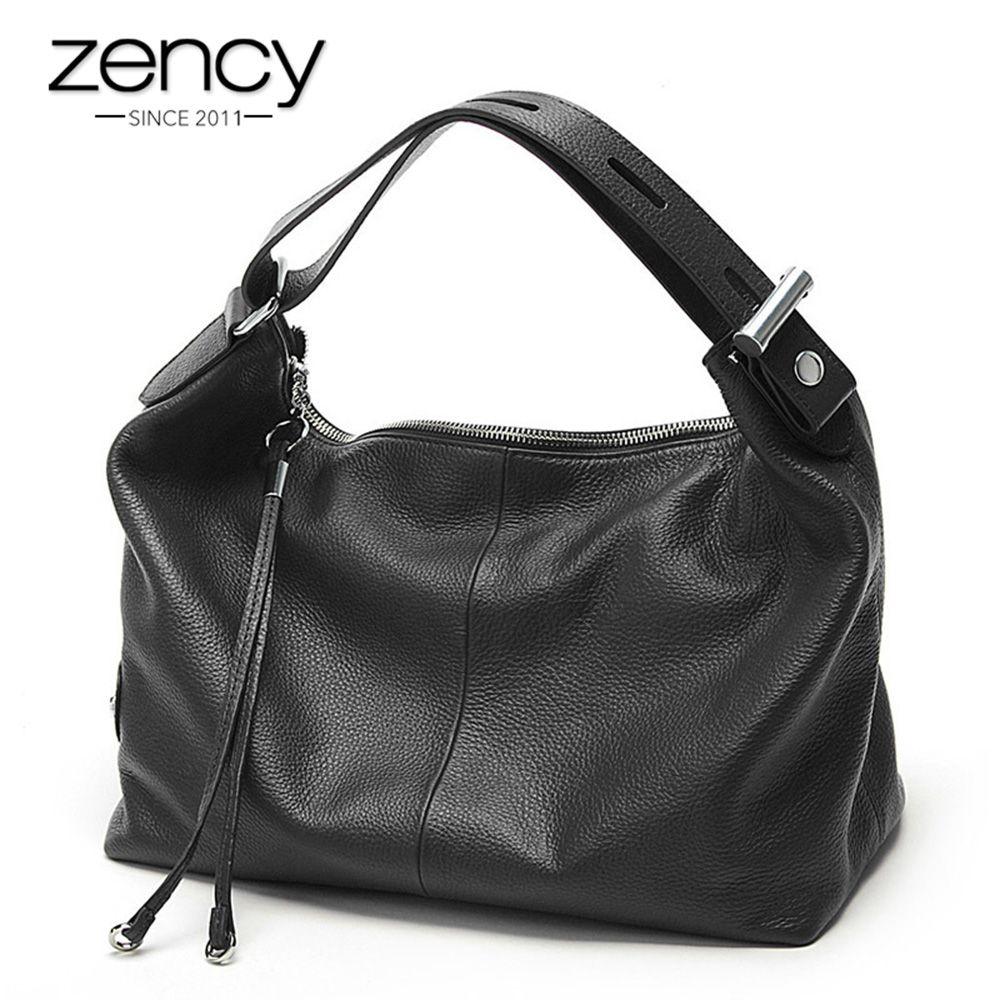 Zency 100% véritable cuir OL Style femmes sac fourre-tout mode dame sacs à bandoulière classique sac à main sacoche bandoulière Messenger sac à main