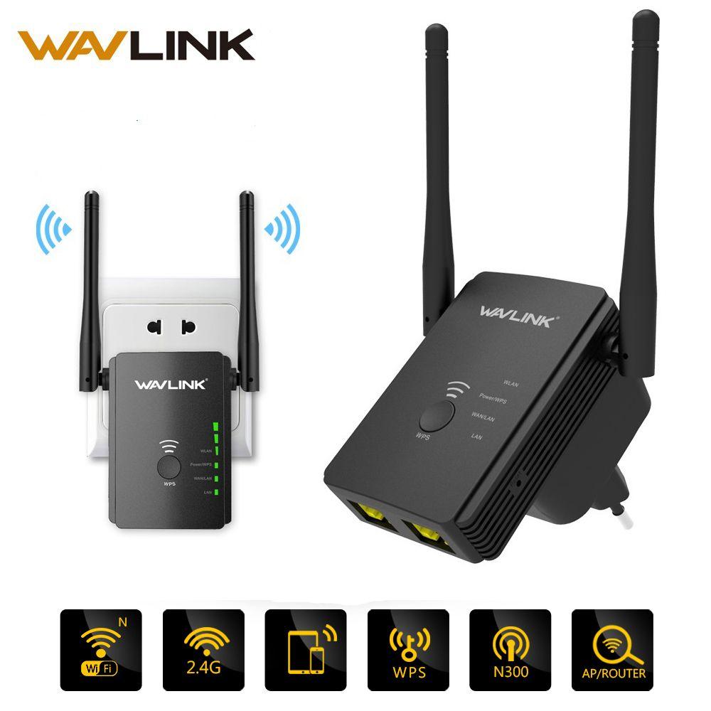 Répéteur Wifi sans fil Original N300 routeur d'extension de gamme universel 300mbps avec 2 antennes Mode répéteur de routeur de Point d'accès