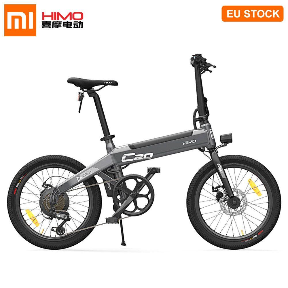 [EU LAGER] Xiaomi HIMO C20 Elektrische Moped Fahrrad 250W Motor Faltbare Ebike 25 km/h 80KM Laufleistung 3 reiten Modi 20 zoll Reifen E Bike