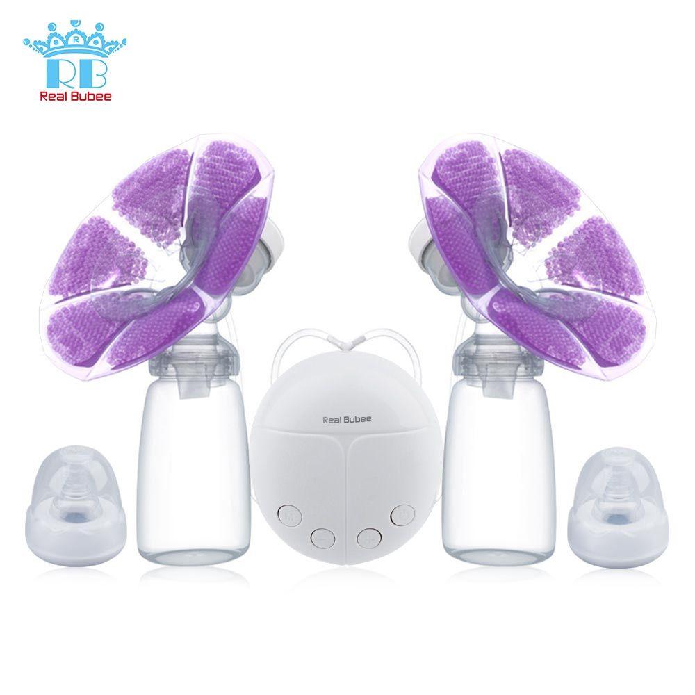 Véritable tire-lait électrique simple/Double Bubee avec bouteille de lait infantile USB sans BPA puissant tire-lait bébé allaitement