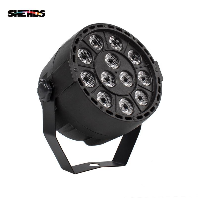 Lumière de pair de lumière d'étape de LED du pair 12x3W RGBW LED avec DMX512 pour l'éclairage d'étape de SHEHDS de décoration de Machine de projecteur de Disco DJ