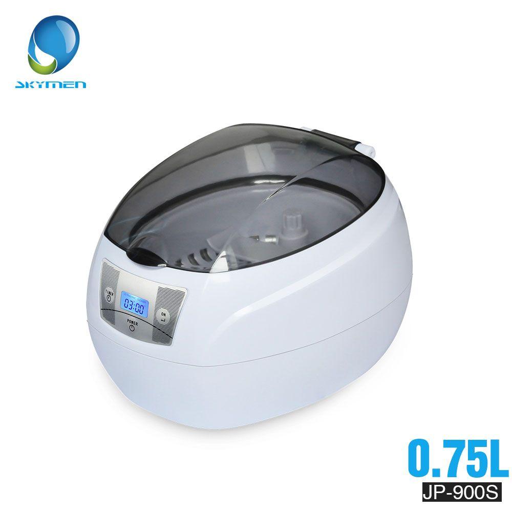 Nettoyeur à ultrasons 0.75L réservoir 35W 42kHz paniers bijoux montres injecteur anneau dentaire PCB numérique ultrasons Mini nettoyant bain