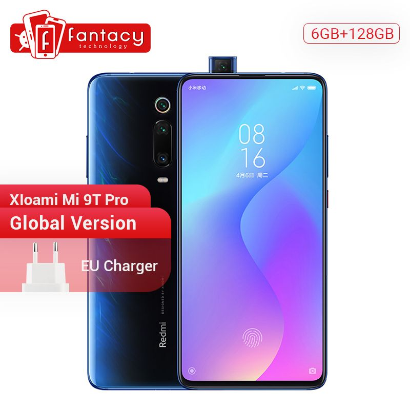 In Stock Global Version Xiaomi Mi 9T Pro 9 T (Redmi K20 Pro) 6GB 128GB Snapdragon 855 Smartphone 48MP Triple Cameras 4000mAh NFC