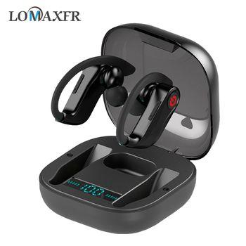 Ear hook Wireless bluetooth Earphone Sport headset hifi blutooth Headphones Waterproof stereo Mini earphones with mic for xiaomi