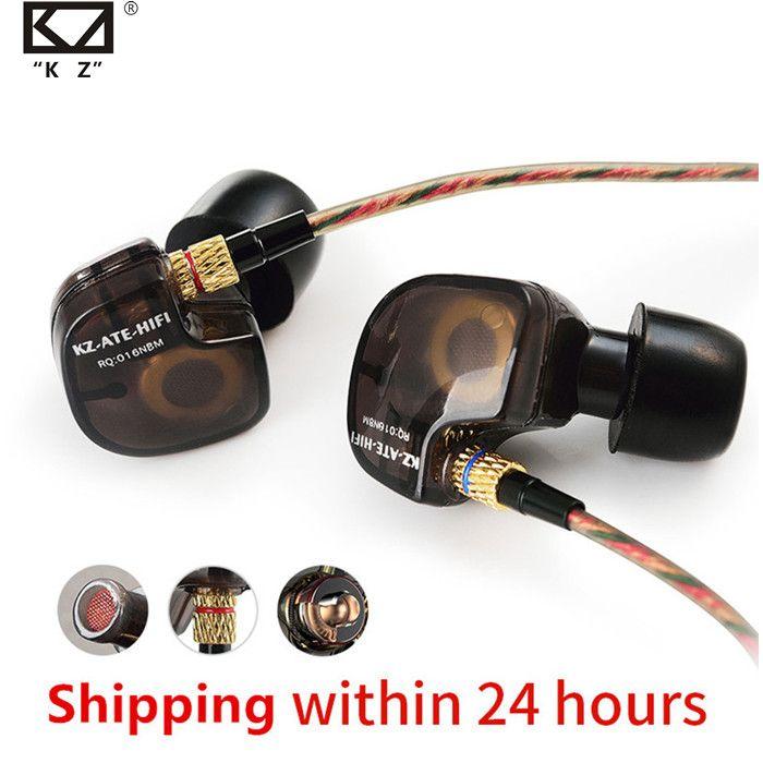 KZ ATE ATR HD9 ZS3E cuivre pilote HiFi Sport casque dans l'oreille écouteur pour courir avec Microphone casque musique écouteurs