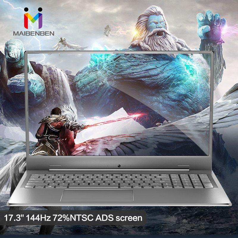 Super Riesigen Bildschirm Laptop MAIBENBEN XIAOMAI 6S Plus 17,3