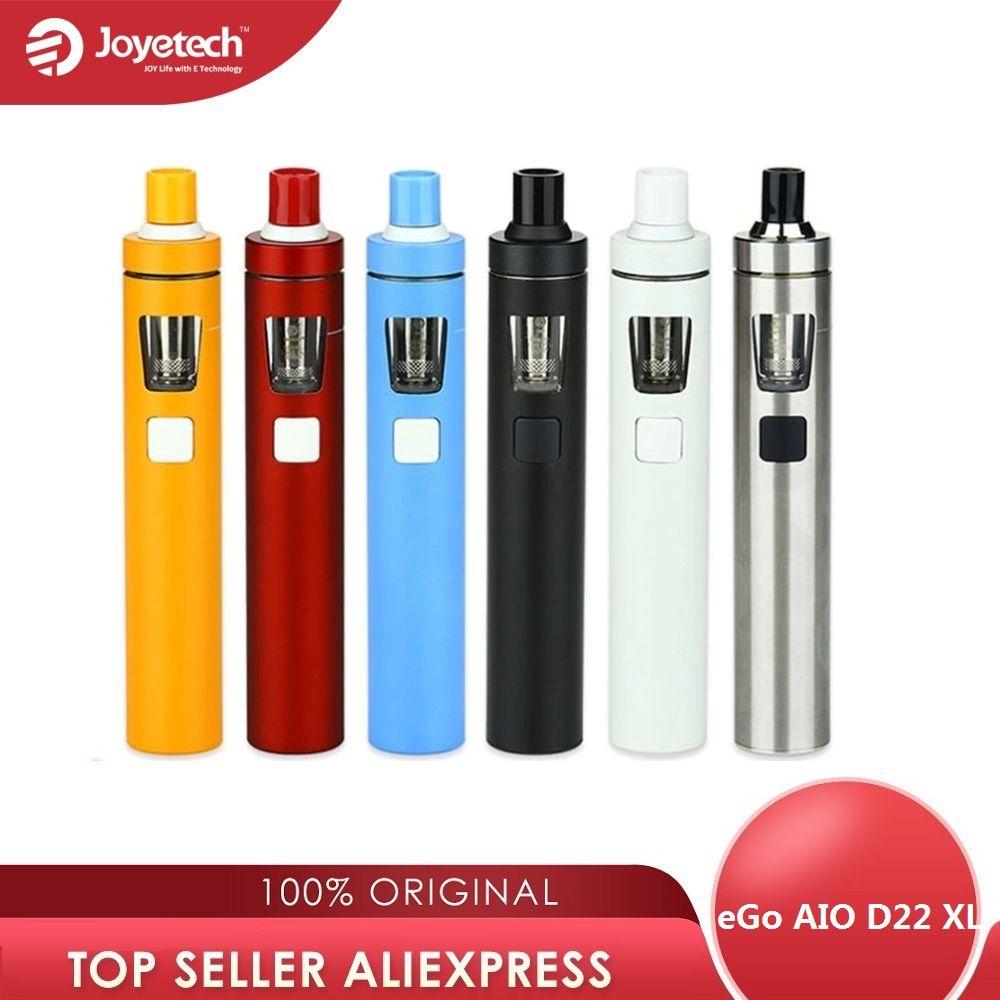 Original Joyetech eGo AIO D22 XL Vape Kit 2300mah Battery 4ml Tank All-in-one Vape pen E cigarette Kit Vs Ijust s Kit /ego aio