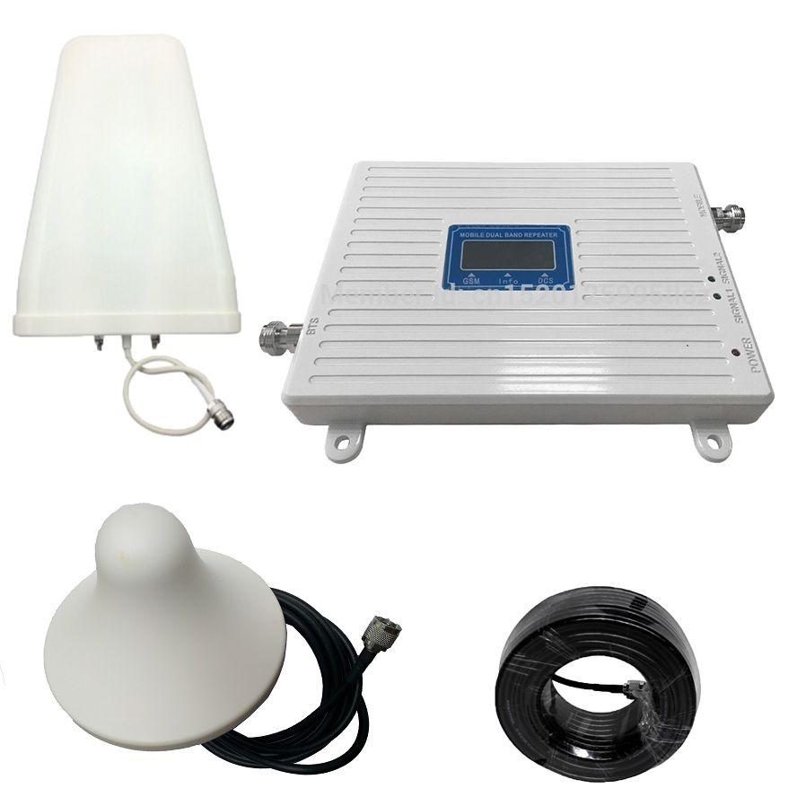 4G 2G 900 1800 mhz Dual Band Handy Cellular Signal Repeater Verstärker GSM DCS LTE Handy signal Booster