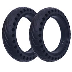 Electric Scooter Damping Tyre for Xiaomi M365 Scooter Hollow Tires Shock Absorber Non-Pneumatic Solid Tyres Tube for M365 Pro