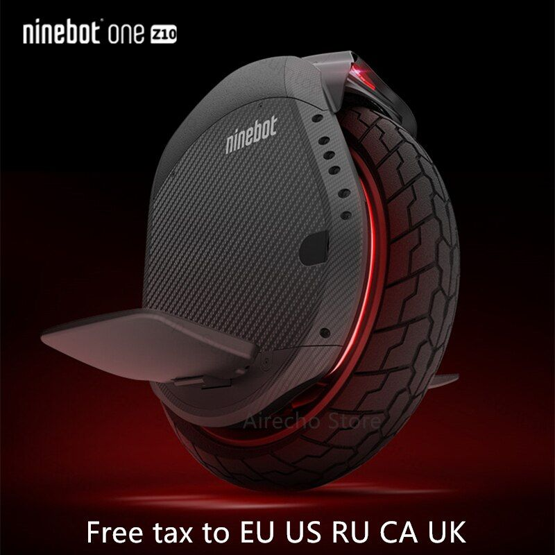 Original Ninebot Eine Z10/Z6 Einrad Selbst Ausgleich Roller 1800W 45 km/h Mit Griff Unterstützung Bluetooth APP Elektrische hoverboard