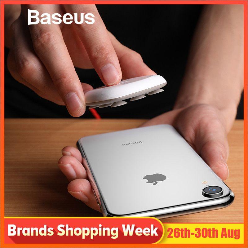 Chargeur sans fil Baseus Spider ventouse pour iPhone XR XS Max Portable chargeur rapide sans fil pour Samsung Note 9 8 S9 + S8