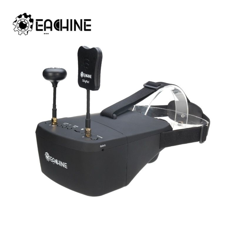 Eachine EV800D 5.8G 40CH 5 Inch 800*480 Video Headset HD DVR Diversity FPV Goggles With Battery For RC Model RC Drone Parts