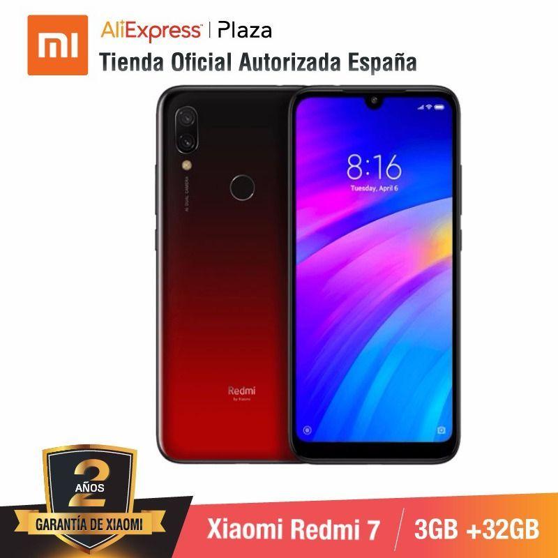 [Global Version for Spain] Xiaomi Redmi 7 (Memoria interna de 32GB, RAM de 3GB, Bateria de 4000mah) Smartphone