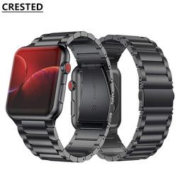 Strap For Apple Watch band 44mm/40mm apple watch 5 4 3 band iwatch band 42mm/38mm Stainless Steel correa Bracelet watchband