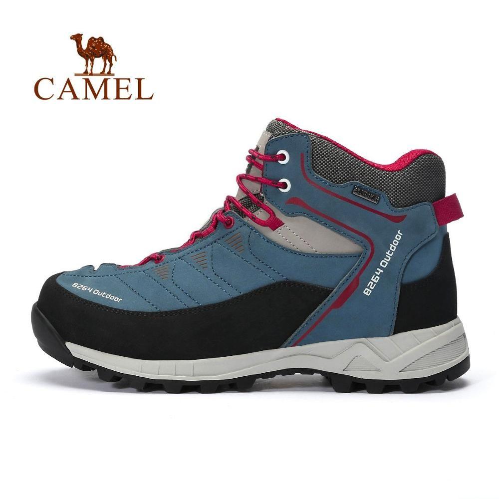 KAMEL 8264 Männer High Top Wanderschuhe Hohe Qualität Langlebige Mehrfarbige Warme Klettern Trekking Schuhe Militärische Taktische Stiefel