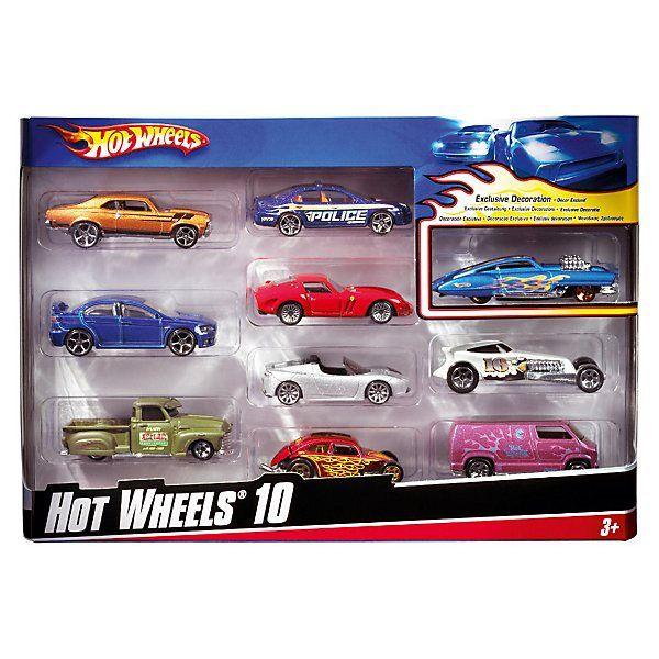 Set von metall autos Hot Wheels, 10 stück