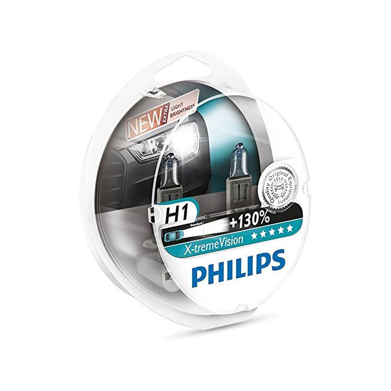 PHILIPS 12258XV + S2 H1 12 V-55 W (P14, 5 S) (+ 130% licht) x-treme Vision (2 stücke) 37664