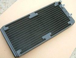 Magicool 280 Mm (Juga Dapat Menggunakan 240 Mm) Aluminium Air Pendingin Radiator, P/N: WC-RA280-AL