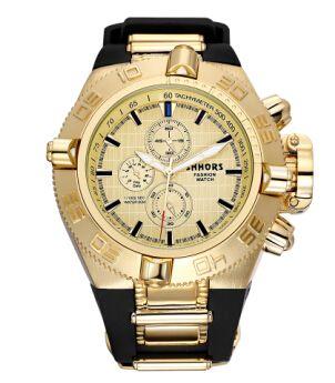 SHHORS Mens Watches Top Brand Rubber Big Watch Men Sports Relogios Waterproof erkek <font><b>saat</b></font> Quartz Wristwatch Mens Military