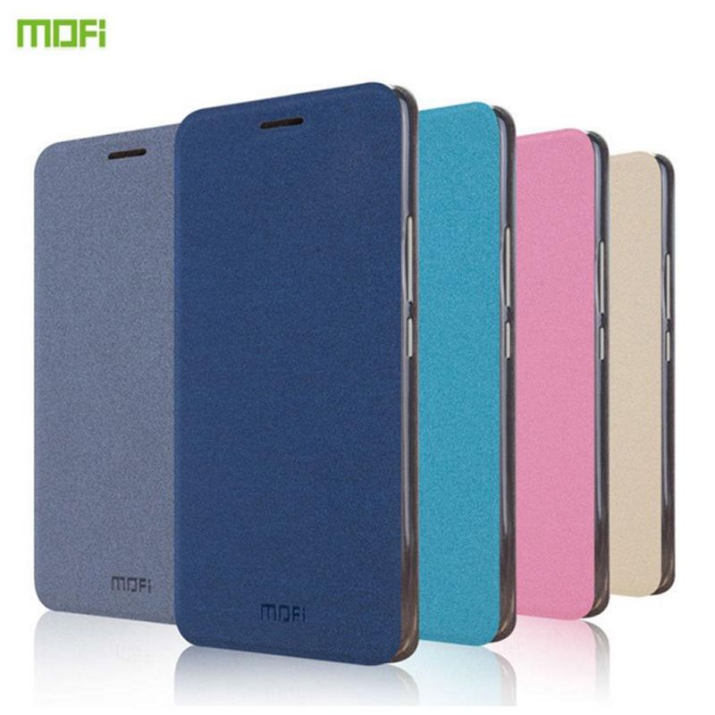For Meizu M3S Mofi Luxury PU Flip Leather Cover Case For Meizu M3S Mini M3 Mini Meilan 3 3S Stand Function Ultra Thin Case