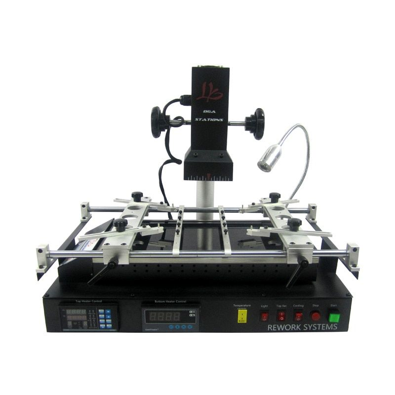 New version LY IR8500 IR BGA Rework Station reballing machine upgrated from the IR6500 V.2 and IR6000 V.3