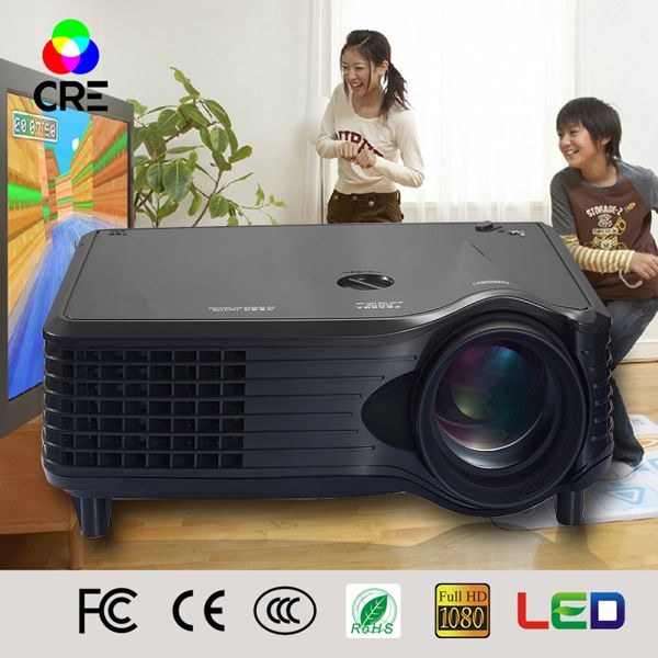 Free Shipping China Manufacturer new arrival low price multimedia lcd projectors