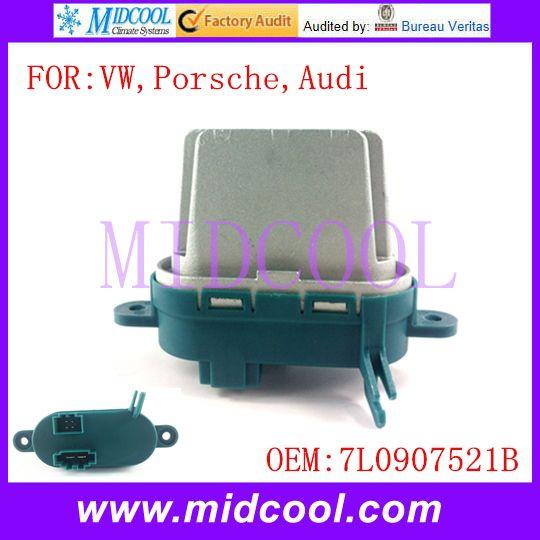 New Blower Motor Resistor Regulator  use OE NO. 7L0907521B for VW Volkswagen Porsche Audi