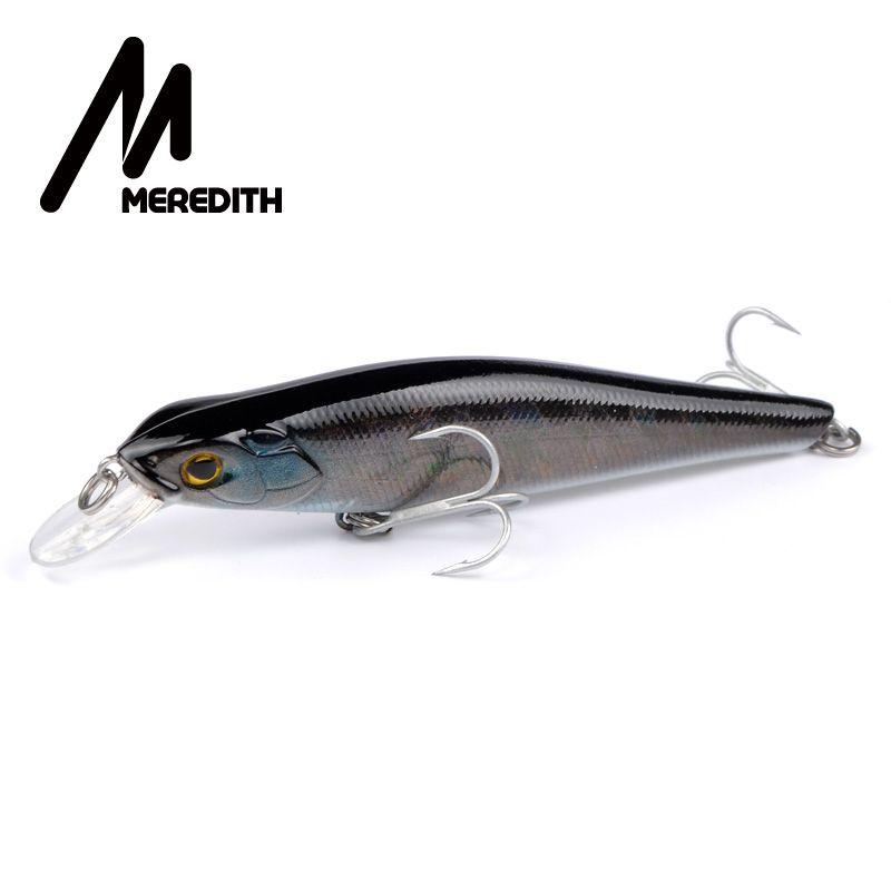 Meredith Lockt Angeln 1pcs16g 105mm Aussetzung Minnowfischen Hart Artigicial Köder Göttin Maker wobbler Haken Karpfenangeln