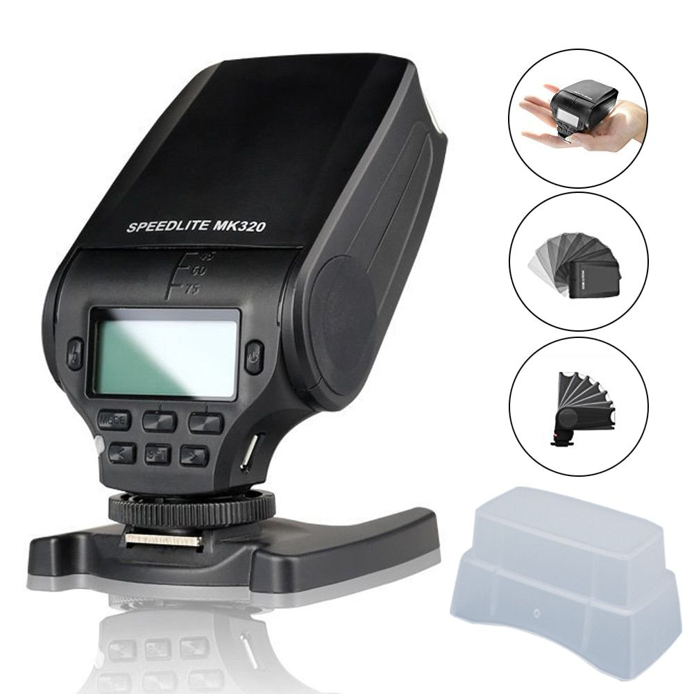 Meike MK320 MK-320 GN32 TTL Flash Speedlite pour FujiFilm Griffe Caméra X-T1 X-M1 X100s X-a1 X-e2 comme EF-20 XT20
