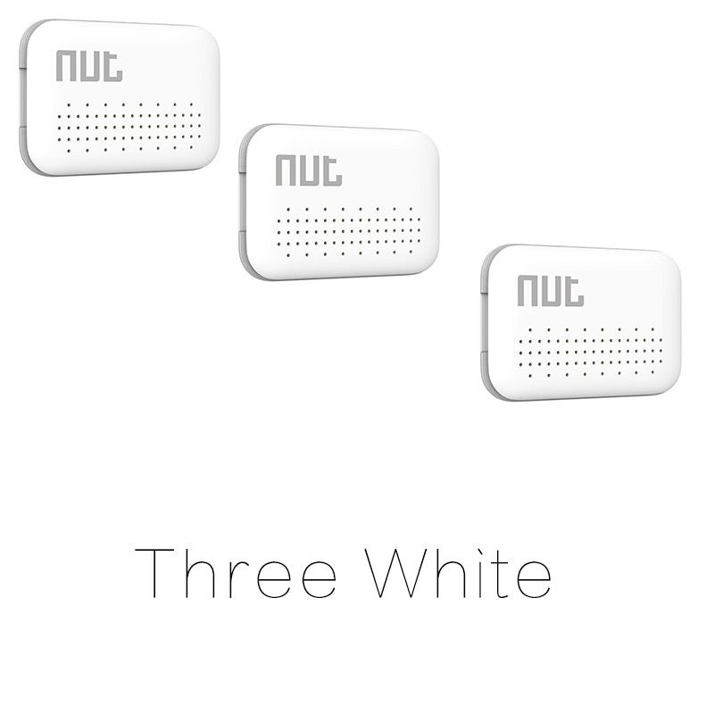 3Pieces Nut Mini Smart KeyFinder, itag Bluetooth Tracker Locator Luggage Wallet Phone Key Anti Lost Reminder Update from Nut 2