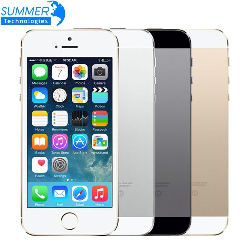Original Unlocked Apple iPhone 5S Mobile Phone iOS A7 4.0