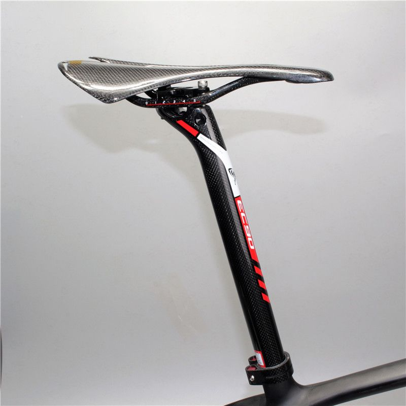 sale new IVEKE 0MM carbon seatpost 27.2/30.8/31.6*350/400mm carbon bike partsmtb seat post road carbon seatpost