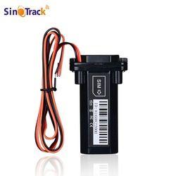 Mini impermeable batería incorporado GSM Tracker GPS para la motocicleta del coche dispositivo de seguimiento de vehículos con sistema de seguimiento en línea software