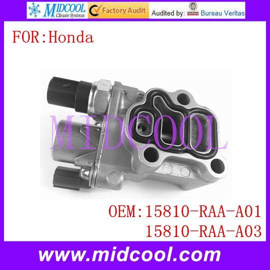 New Spool Valve Oil Control Valve VVT Variable Timing Solenoid OE NO. 15810-RAA-A01 , 15810-RAA-A03 , 15810-RAD-Y01