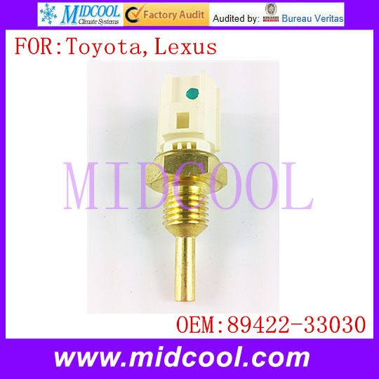 New Water Coolant Temperature Sensor use OE No. 89422-33030 for Toyota Lexus
