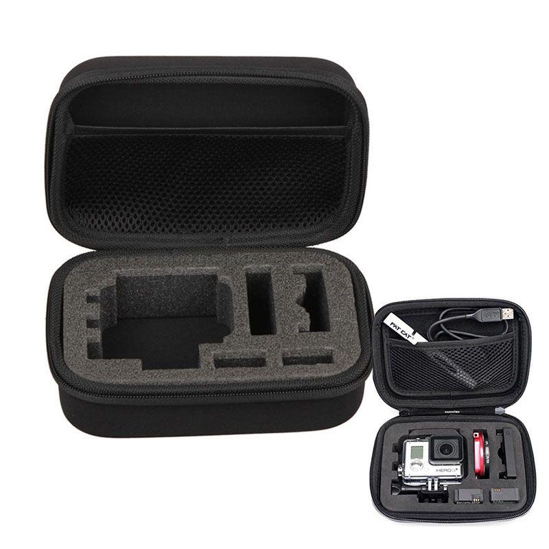 Für Gopro Zubehör Hoher Qualität Schutz Lagerung Tragetasche Box tasche für Hero5/4/3 +/3 sjcam xiaomi yi Eken h9 H9R action cam