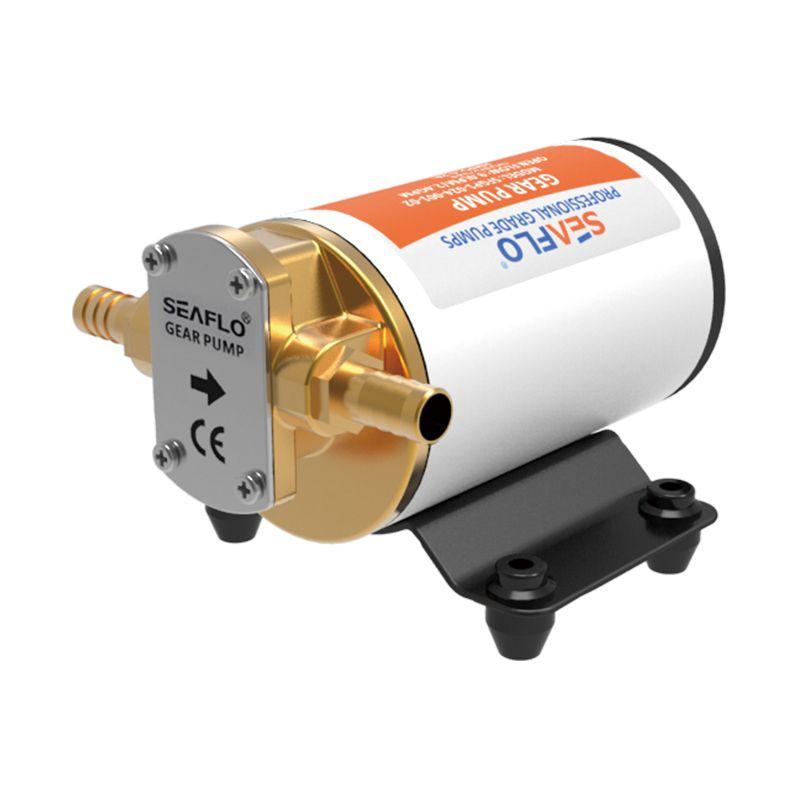 SEAFLO 12v 12 LPM Self Priming Impeller Gear Pump for Diesel Lubricants Machinery Fuel Scavenge Oil Transfer