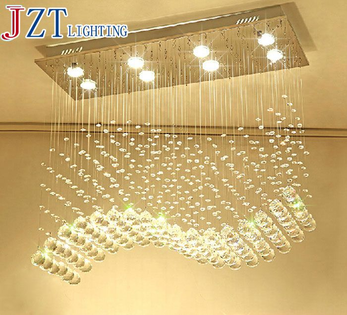 ZYY Best Price New Modern Crystal hanging lamps Creative Crystal Pendant Lamp Luxury Bedroom/Living Room LED Ceiiling Light