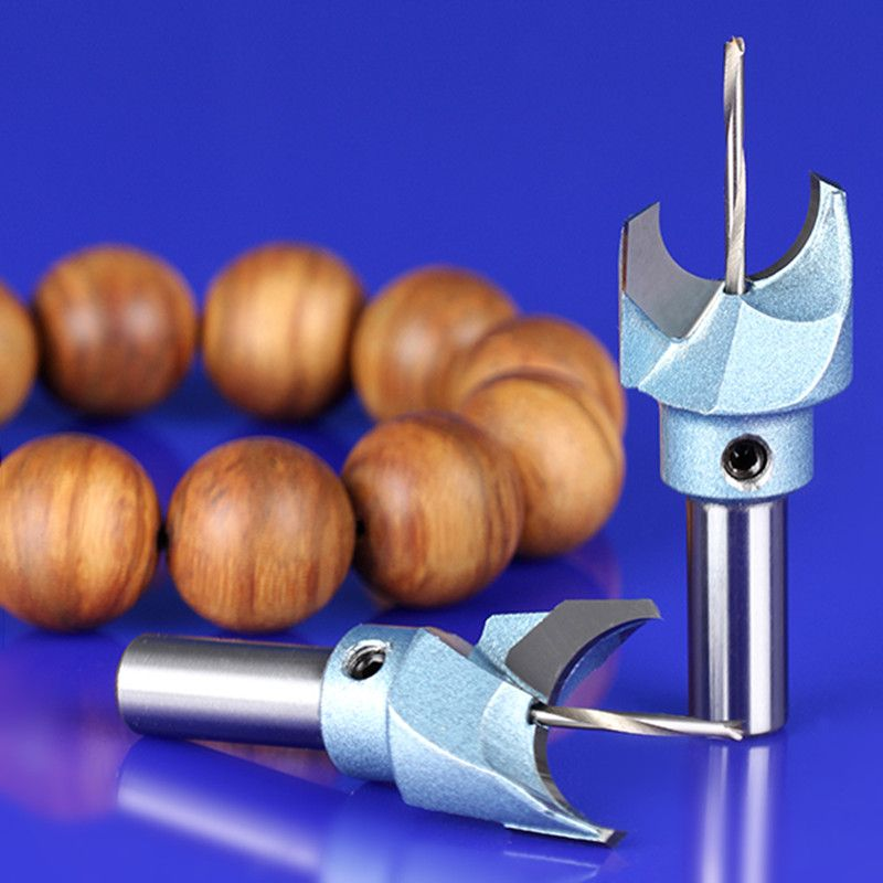 5 pieces Milling Cutter Router Bit Buddha Beads Ball Knife Woodworking Tools Wooden Beads Drill Fresas Para CNC