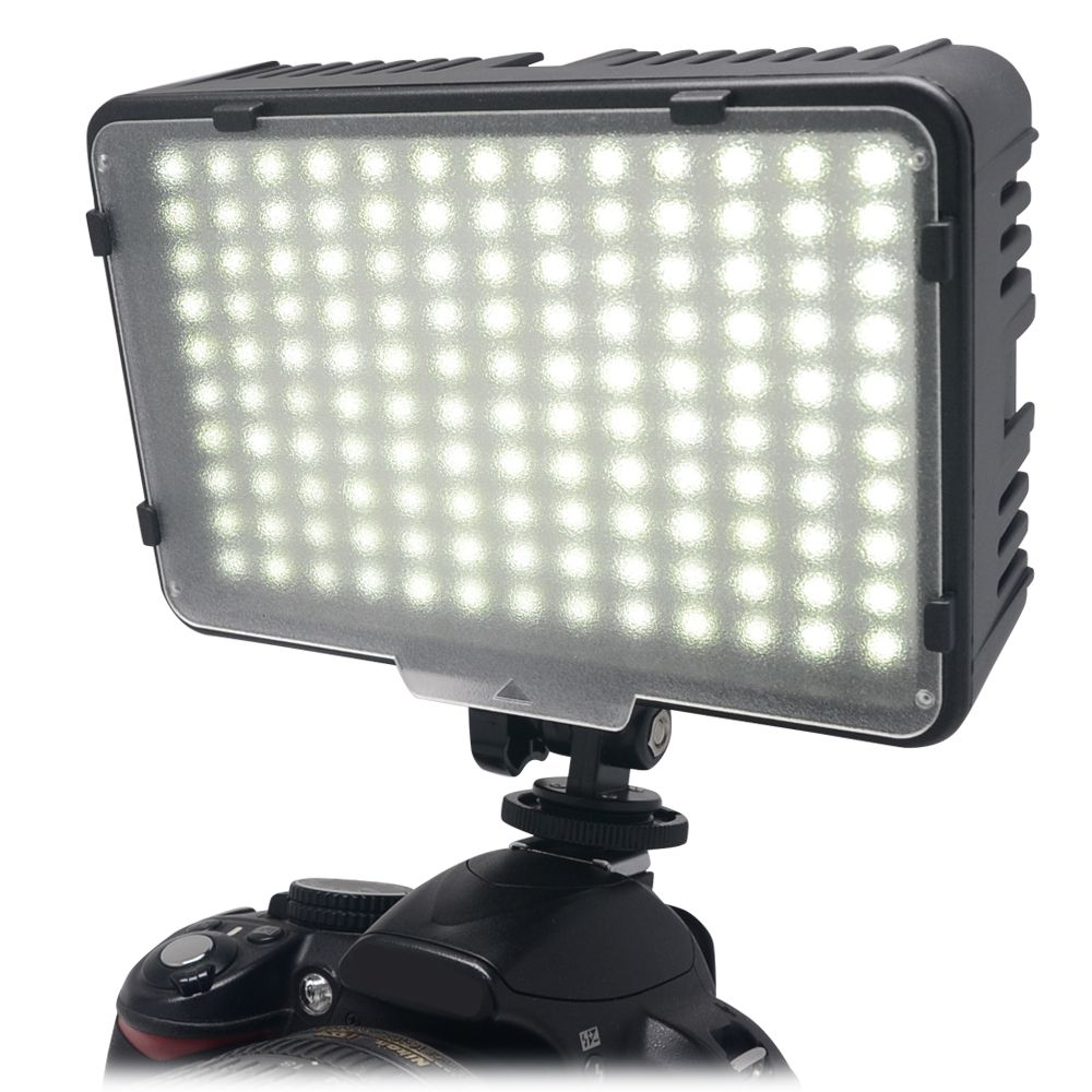 Mcoplus 130 LED Video Photography Light Lighting for Canon <font><b>Nikon</b></font> Sony Panasonic Olympus Pentax & DV Camera Comcorder VS CN-126