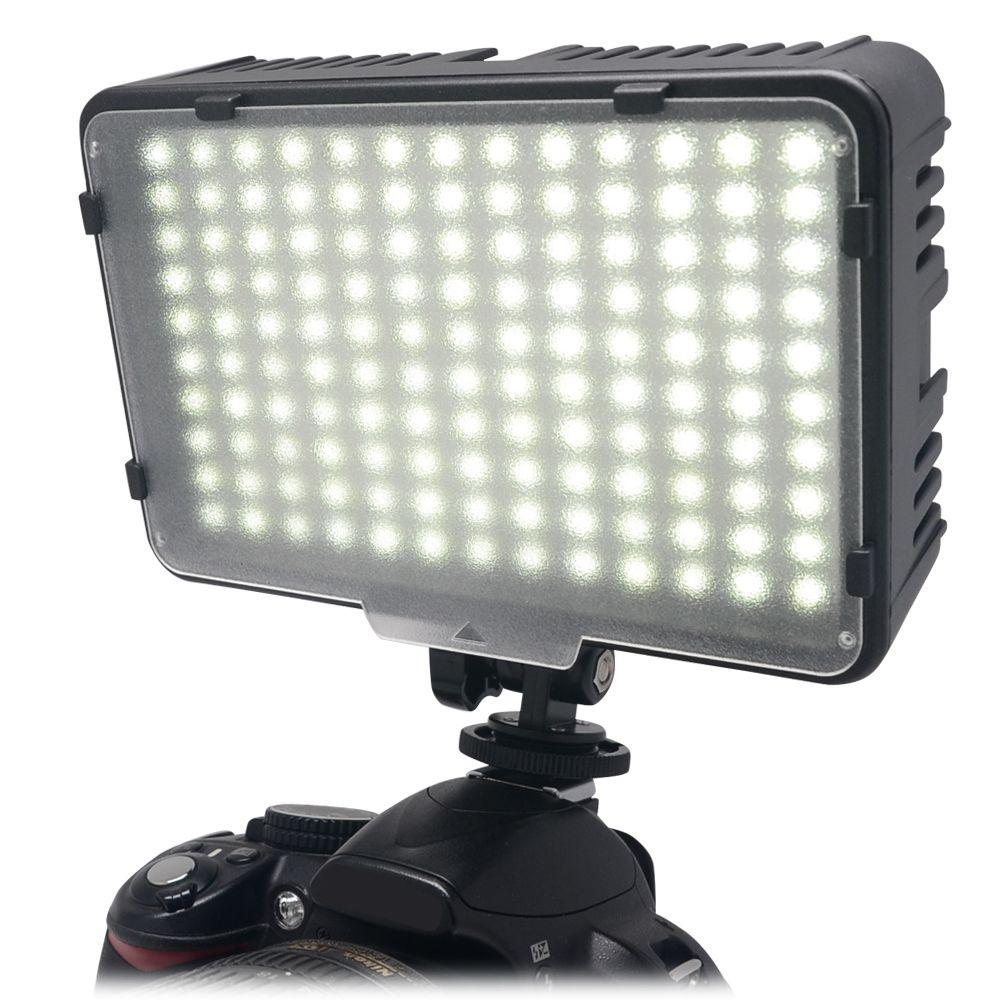 Mcoplus 130 LED Vidéo Photographie La Lumière Éclairage pour Canon Nikon Sony Panasonic Olympus Pentax et DV Caméra Comcorder VS CN-126