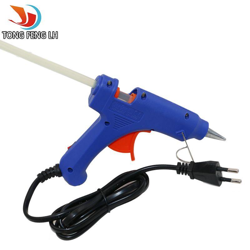 Professionelle High Temp Heizung 20 Watt Heißklebepistole Reparatur Heat tool mit Freies 1 stücke Heißkleber Sticks